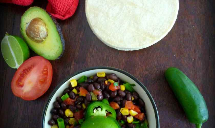 Black Bean Salsa with Avocado & Corn