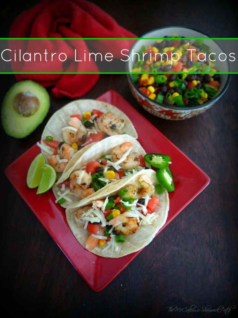 #Cilantro #Lime #SHrimp #Tacos