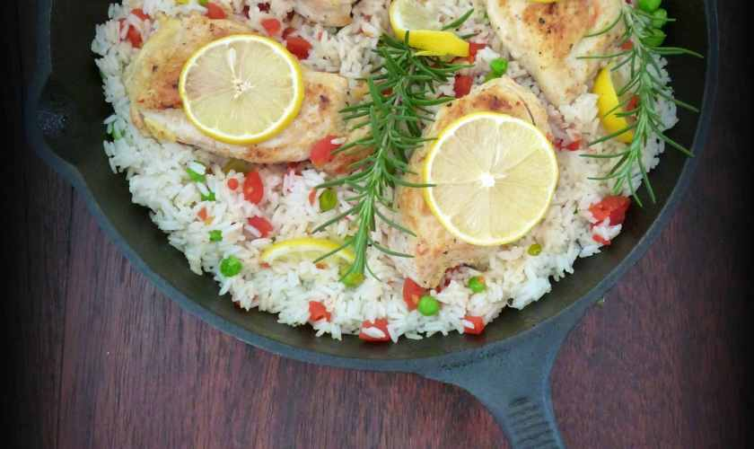 Rosemary & Lemon Chicken Skillet