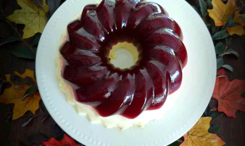 Cranberry Jell-O Mold