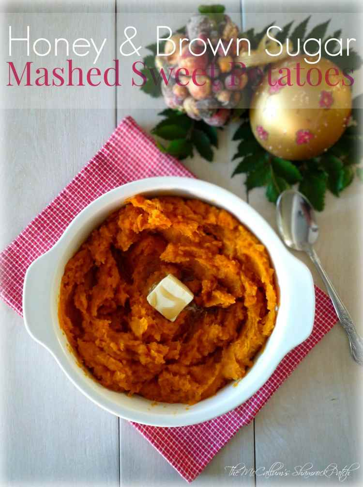 Honey and Brown Sugar Mashed Sweet Potatoes are not only a healthy choice this Holiday Season yet also one of the most delicious healthy decisions you will ever make.