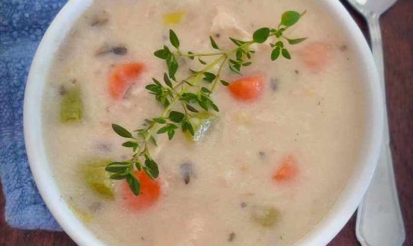 Creamy Chicken Soup- Chunky Style