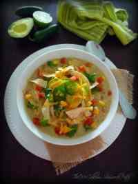 Chicken Enchilada Verde Soup