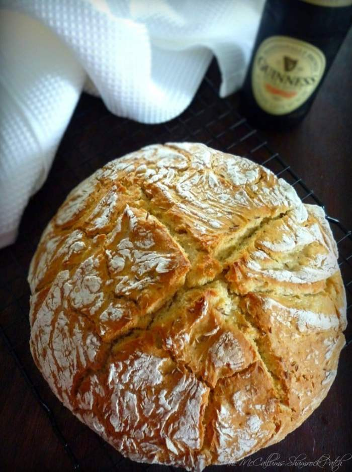 Soda Bread with Guinness Stout is a modern update to a Traditional recipe for Irish Soda Bread. This one adds a slight twist, Guinness Stout