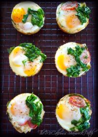 Phyllo Egg Cups with Spinach & White Cheddar will be that amazing favorite Sundaymorning Brunch item combining phyllo dough, sunny side up eggs, spinach and white cheddar cheese guaranteed to make everyone in your family think you truly slaved in the kitchen for them, when in reality all it took was a bit of patience on your part and minimal ingredients.