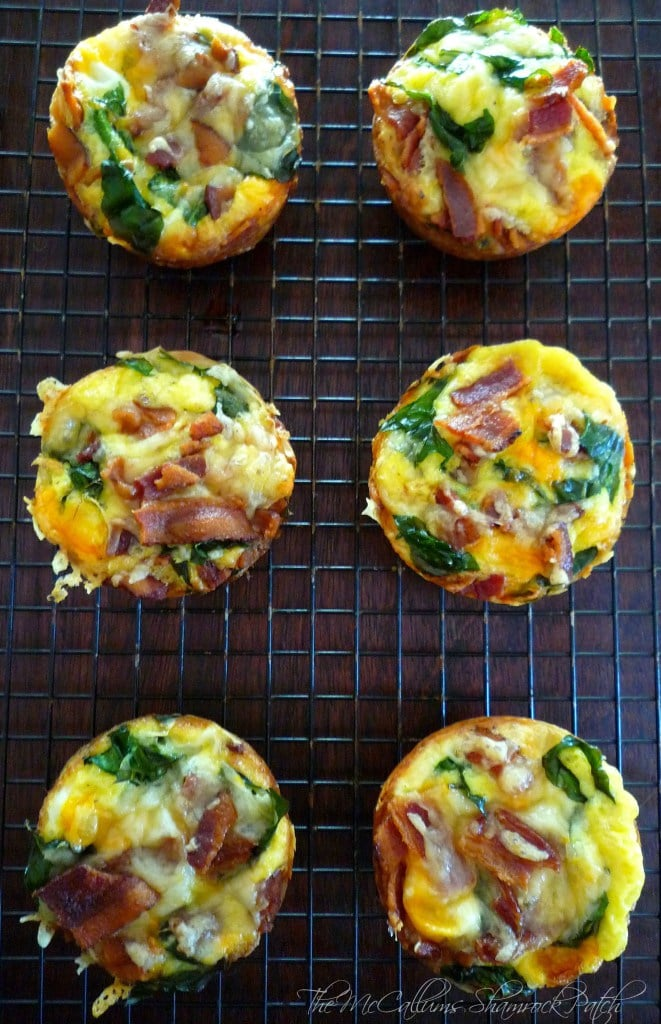 Mini Spinach & Bacon Egg Cups are going to be another one of your weekend breakfast favorites with you and your loved ones. Combining crisp smoked bacon, eggs, quality phyllo dough, real butter, fresh chopped organic spinach, mild cheddar, sweet Vidalia onions, and simply seasoned with kosher salt and freshly ground pepper.