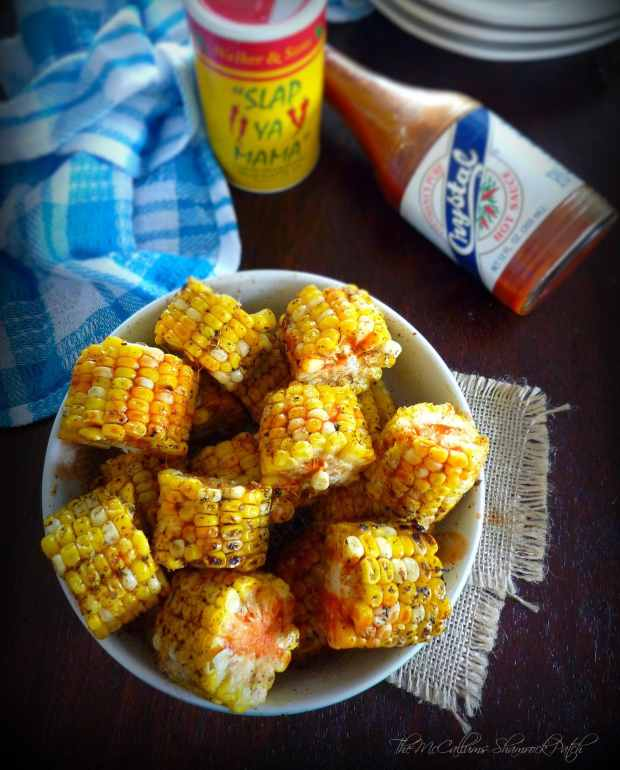 Cajun Corn on the Cob - The McCallums Shamrock Patch