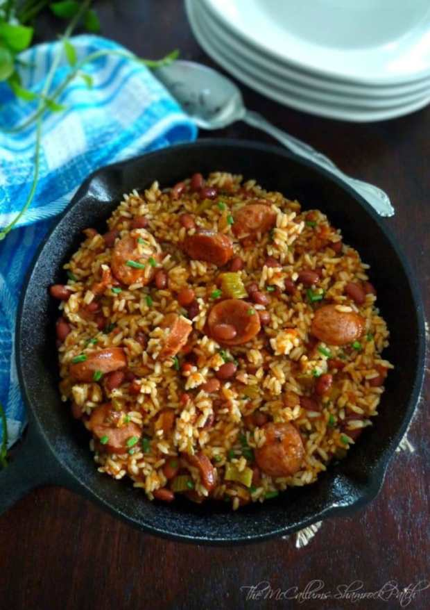 Creole Red Beans and Rice , The McCallums Shamrock Patch Blog