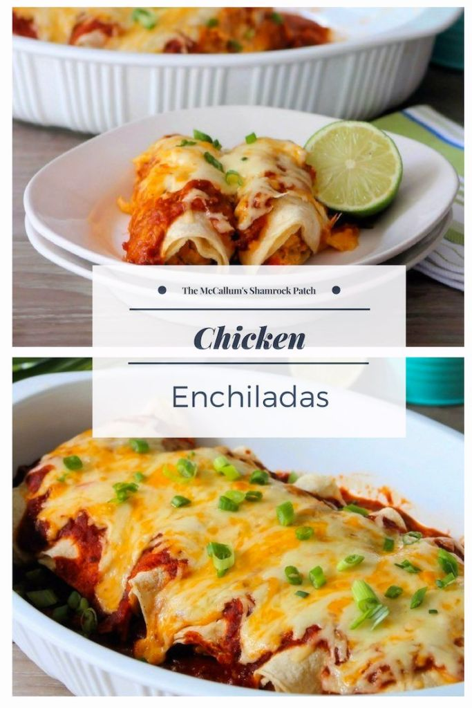 Chicken Enchiladas with Red Sauce are so darn good, you may want to make 2 batches of this Delicious Chicken Mexican goodness wrapped in fresh corn tortillas with fabulous homemade red sauce, a hint of lime and fresh Spanish herbs.