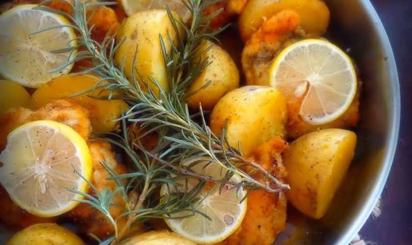 Italian Lemon Rosemary Chicken