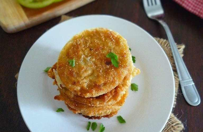 Southern-Style Fried Green Tomatoes
