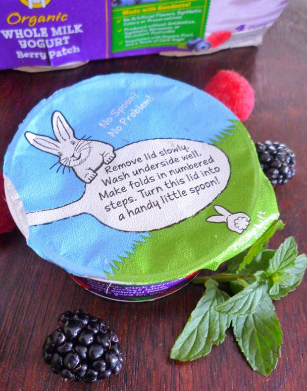 Imagine simple, cool, refreshing, and delicious when you hear Easy Summer Berry parfait made with Annie's Organic Whole Milk Yogurt, fresh organic strawberries, raspberries, blackberries, organic cereal, and fresh mint. The Florida heat is beginning to soar; cool refreshing treat cravings are in full swing at our house now, how about yours?