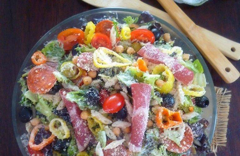 Easy Creamy Italian Pasta Salad