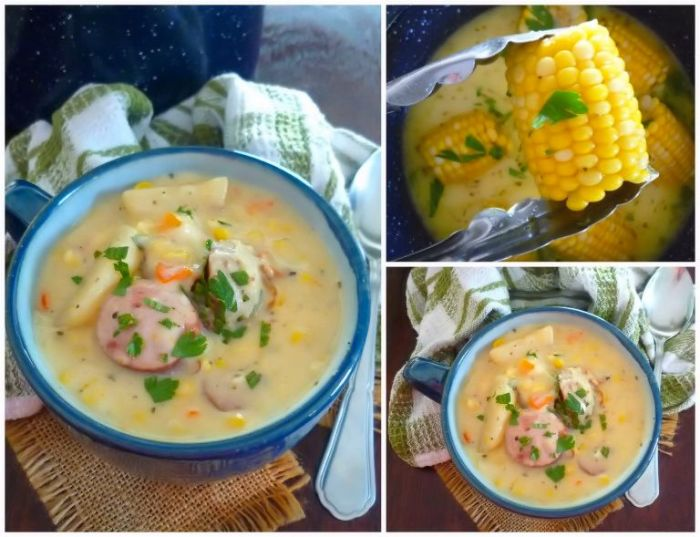 Southern-Style Corn and Potato Soup is the perfect soup that's an exception to the rule during the summer months. Creamy, thick, and delicious are some of the keywords that come to mind when eating thisSouthern-Style Corn and Potato Soup.