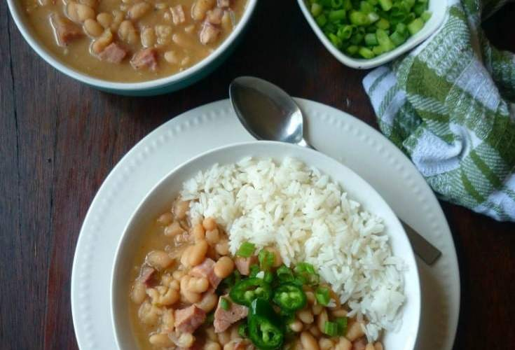 Southern-Style White Beans and Ham
