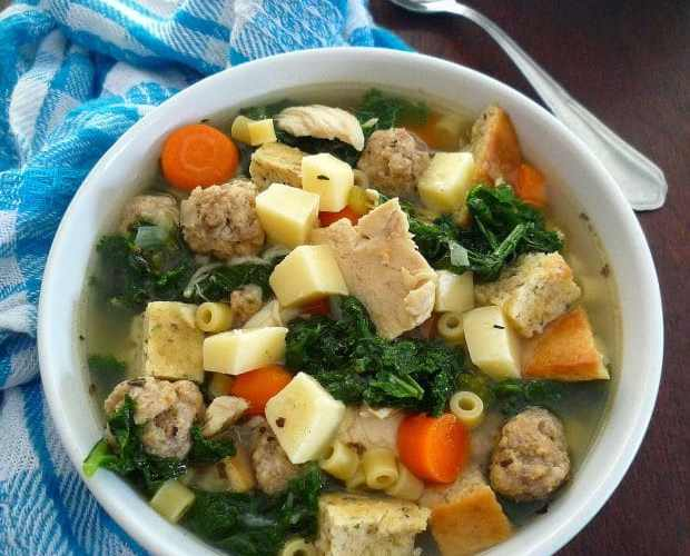 HEARTY WEDDING SOUP – MINESTRA MARITATA Recipe