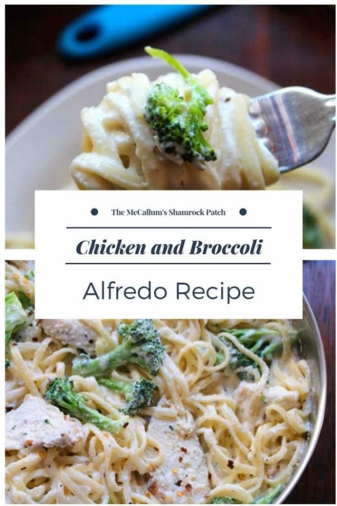 Chicken And Broccoli Alfredo Recipe  The Mccallums Shamrock Patch-4005