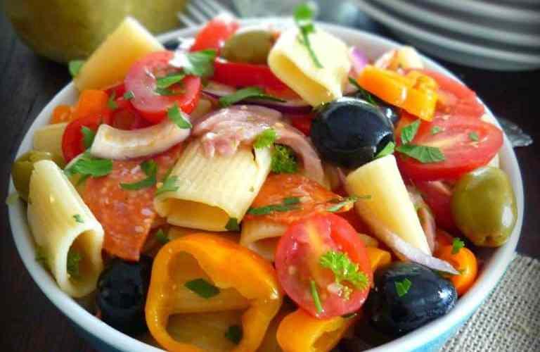 Lemony Italian Pasta Salad