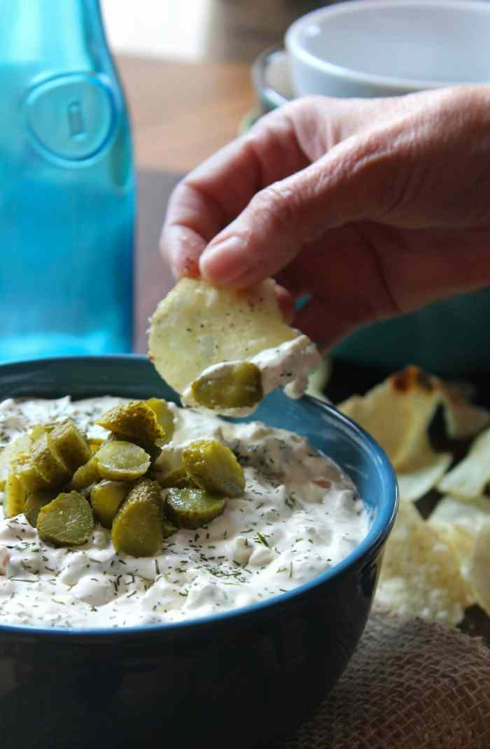 Mention Dill Pickle Dip to me and I will proclaim to you, is what dreams are made of on a warm spring day here in Mississippi. It's that deliciously simple to make dip we love to serve at family shindigs and church potlucks.