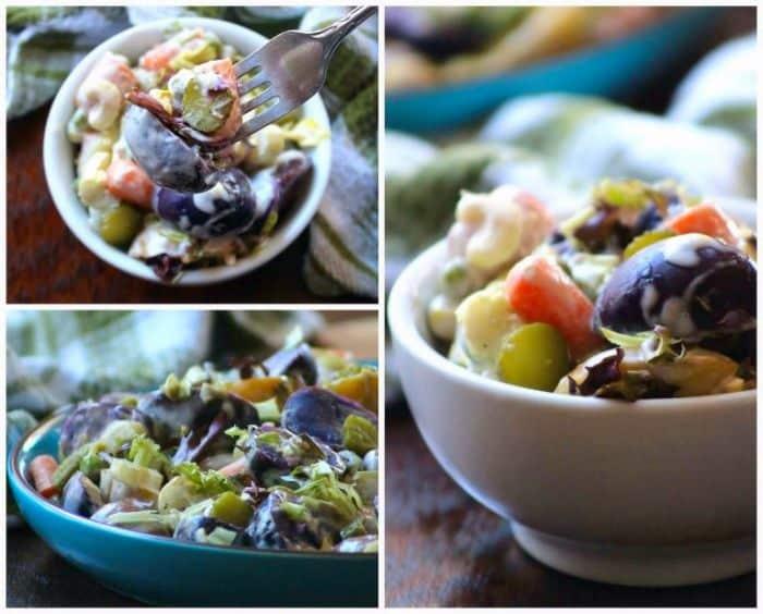 Purple Potato Salad Recipe