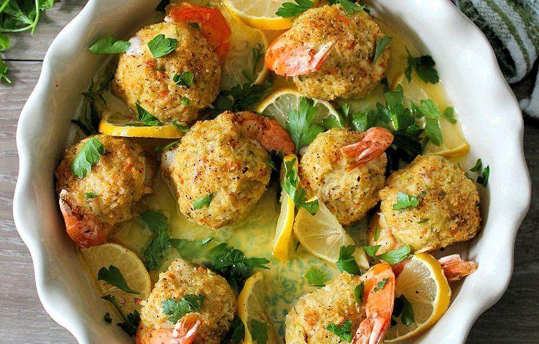 Crab Stuffed Jumbo Shrimp Recipe