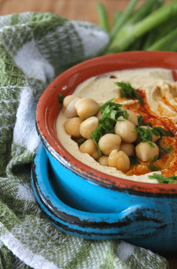 Authentic Lebanese Hummus