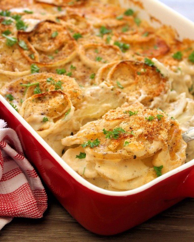 Country Style Scalloped Potatoes