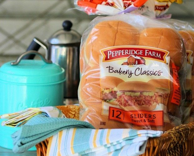 Easy Muffaletta Sliders #AD