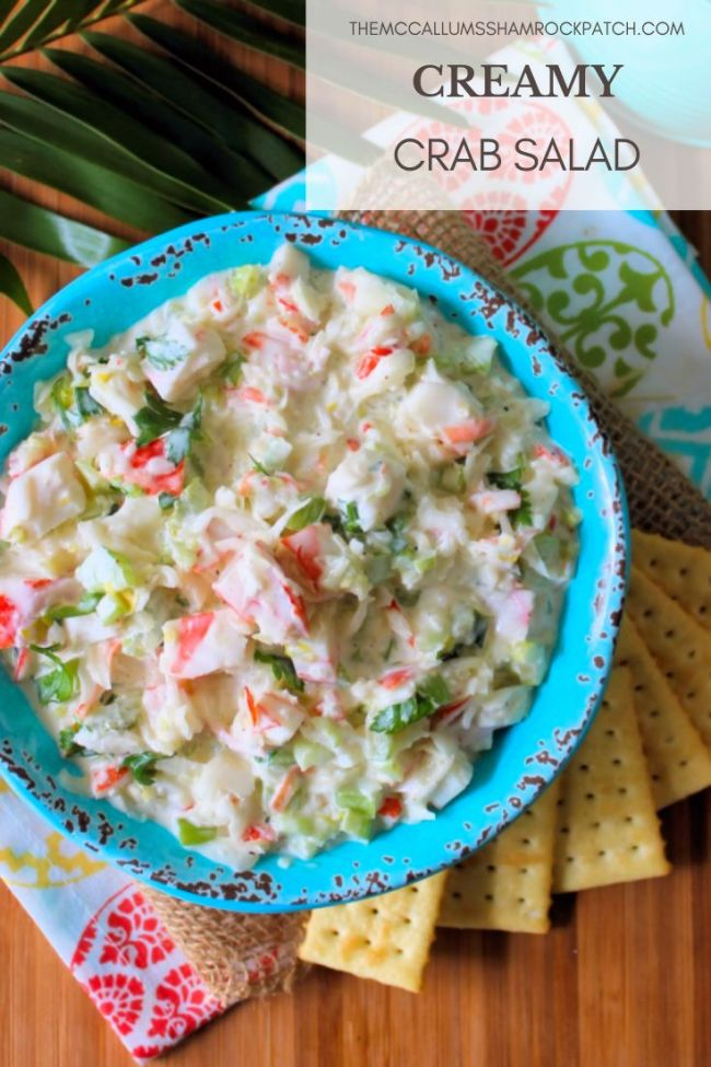 Creamy Crab Salad