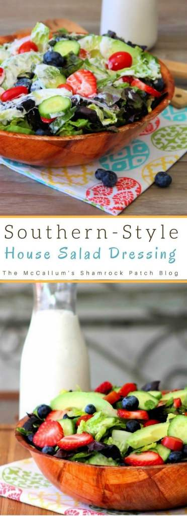 Southern House Salad Dressing Recipe