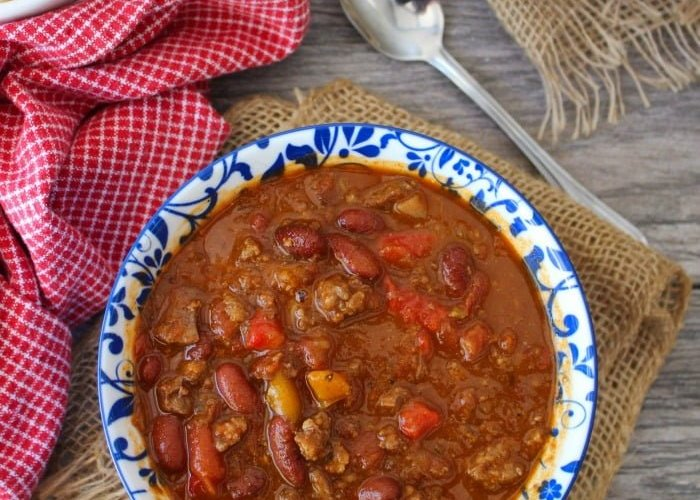 Wendy's Copycat Chili