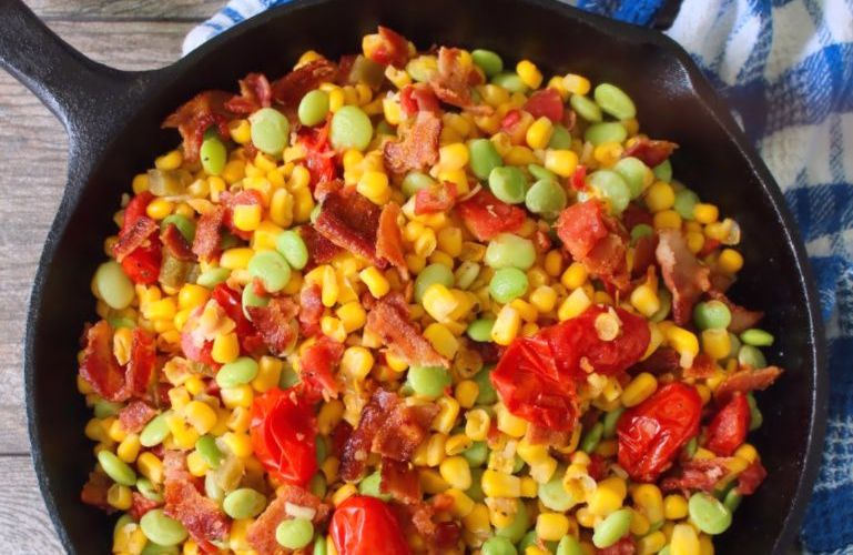 Southern-style Succotash