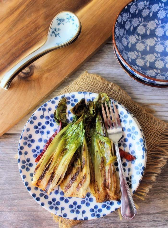 Grilled Bok Choy is a deliciously flavorful and a minimal ingredient recipe that cooks in just a matter of minutes on the grill.