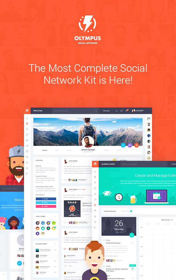 The Most Complete Social Network Kit is Here!