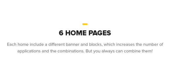 6 Home Pages