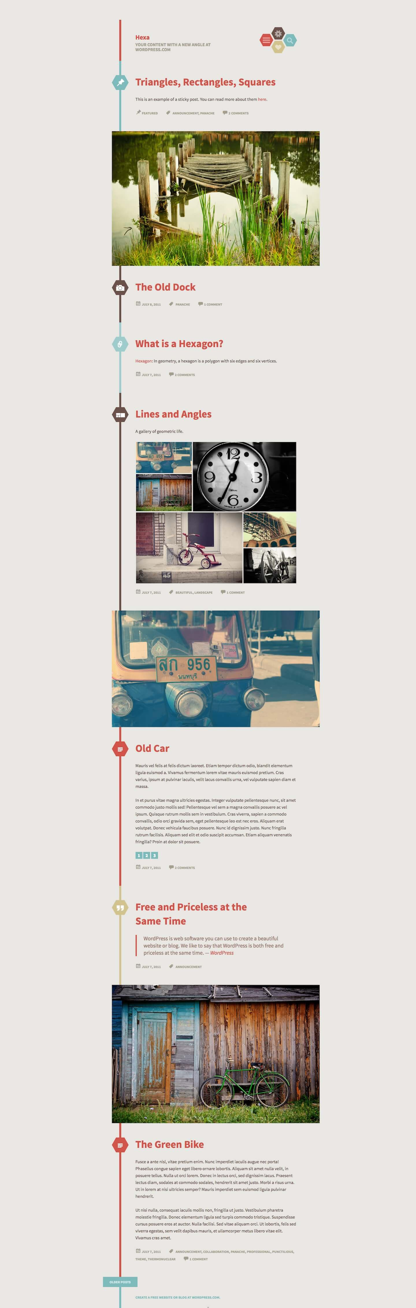 Hexa WordPress Theme