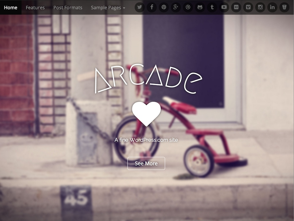 Arcade WordPress Theme