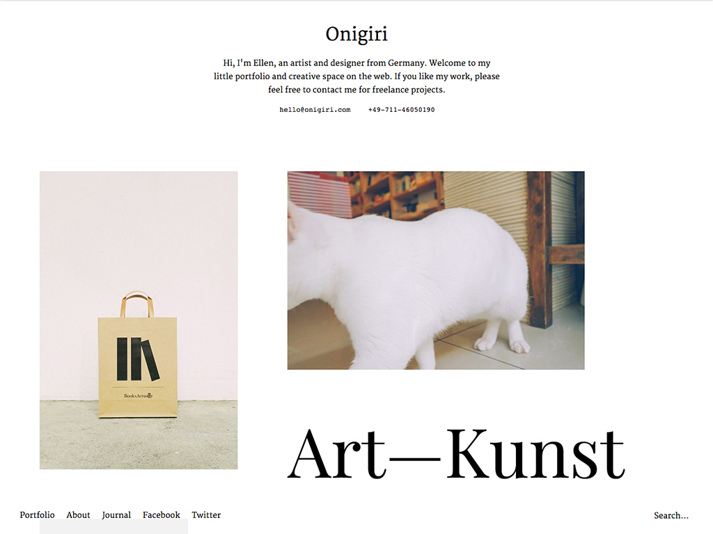 Onigiri WordPress Theme