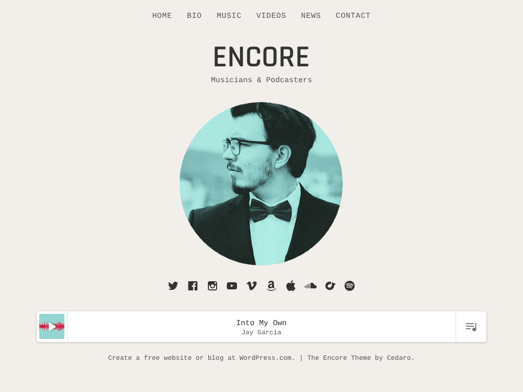 Encore WordPress Theme