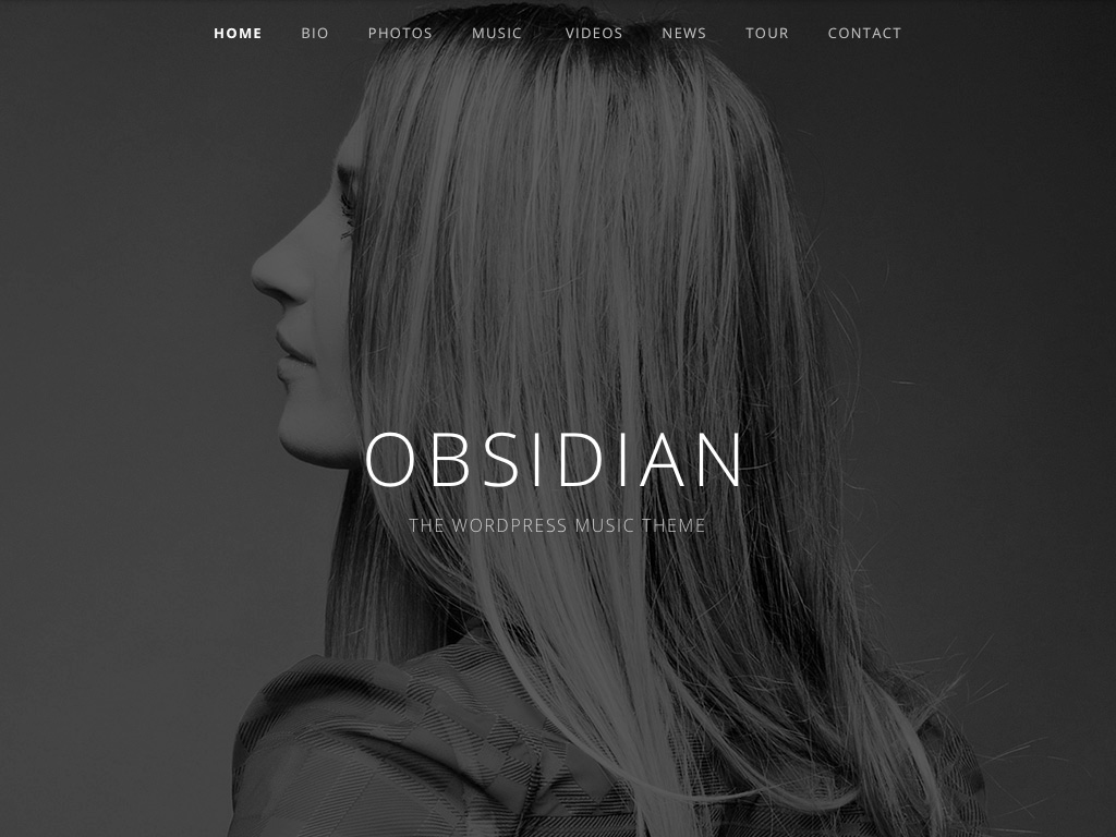 Screenshot of the Obsidian theme