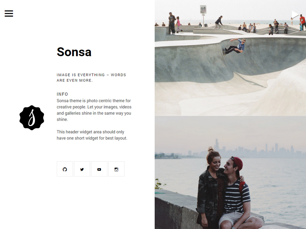 Sonsa WordPress Theme
