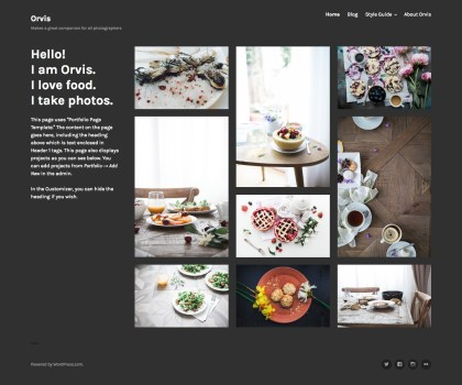 Orvis WordPress Theme