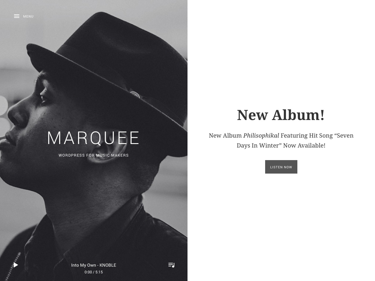 Marquee WordPress Theme