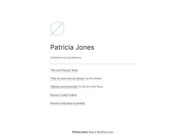 Screenshot of the Jones theme