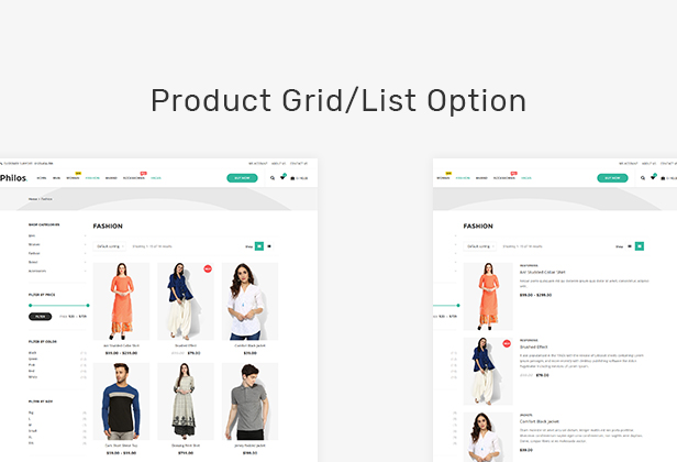 Philos - Responsive WooCommerce WordPress Theme - 9