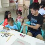 Joshua Emmanuel Tan with Francine and Jane.