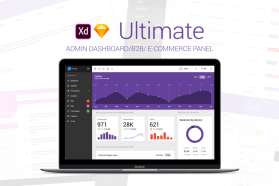 Ultimate Dashboard Admin Dashboard