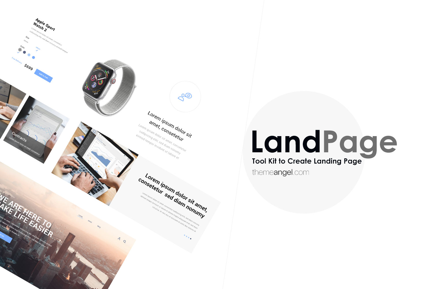 LandPage Kit - Create Your Very Own Landing Page