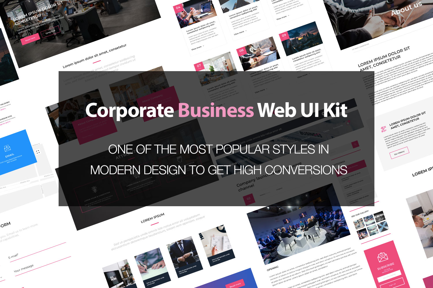 Splash - Corporate Business Web UI Kit