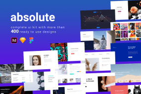 Absolute web full ui kit | Theme Angel